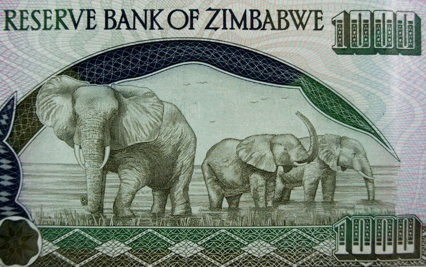 Zimbabwe money 2003