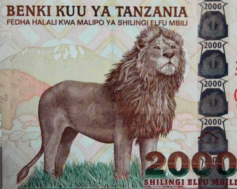 Tanzania money 2003