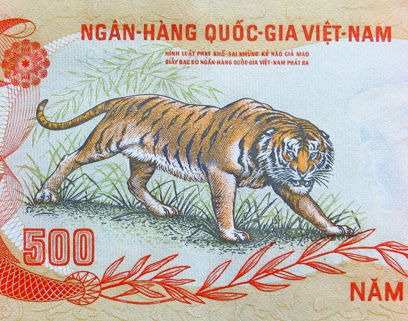 Vietnam war money 1972